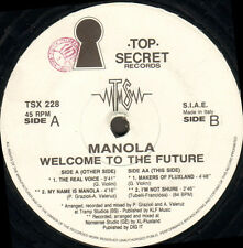 MANOLA - Welcome To The Future - Top Secret