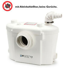 SUPERLEISE 25dB Hebeanlage Kleinhebeanlage Abwasserpumpe Pumpe Sanitärpumpe WC