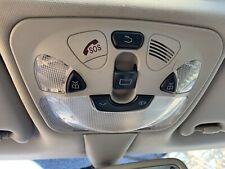 Mercedes Benz CLK German Overhead Console Map Dome Light SOS Trunk Buttons Gray
