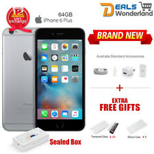 New Sealed Box Apple iPhone 6 Plus 64GB Mobile Phone Space Gray Unlocked