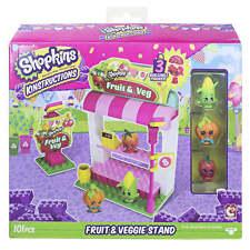 NEW SHOPKINS KINSTRUCTIONS FRUIT & VEGETABLE STAND