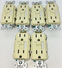 LOT OF 10 Pass Seymour 15A 1597NTLTRI Night Light Receptacle IVORY FREE SHIP