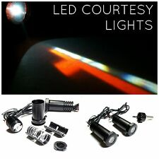 TRD Toyota Racing LED Courtesy Door Lights Ghost Shadow Logo Projectors Puddle