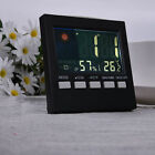 LCD Digital Thermometer Hygrometer Humidity Clock Weather Meter Indoor Outdoor