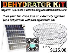 Professional Solar Oven Dehydrator Kit-Fits All Solar Box-type Sun Ovens