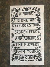 Wine bottle Vinyl, Decal, sticker, CRAFT ,DIY, Friend . Flower , Garden