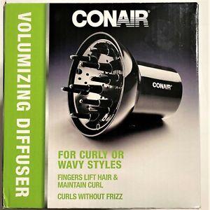 Conair Volumizing Diffuser 1875-Wavy Curls without the Frizz Women Girls Styling