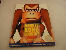 OFFICIAL Donkey Kong Country 1 SNES Super Nintendo Strategy Guide Hint Book