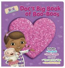 NEW FIRST EDITION Disney Doc McStuffins Doc's Big Book of Boo-Boos - Hardcover
