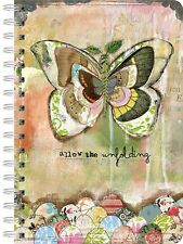 ALLOW THE UNFOLDING - SPIRAL JOURNAL - BRAND NEW - KELLY RAE ROBERTS 1350019