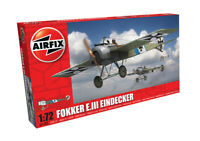 Airfix Model Kit Fokker E.III Eindecker 1:72 Scale WW2 Military War Aircraft 087