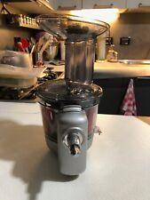 Estrattore lento di succo KitchenAid alta potenza Slow Juicer usato.