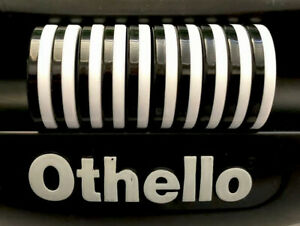 15 Othello Game Pieces Replacement Black and White Discs Chips Tokens