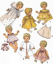 Vintage Doll Clothes PATTERN 4727 for 16 in Betsy Wetsy Carrie Cries Sweetie Pie