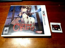 CORPSE PARTY (Nintendo 3DS) XSEED game Complete Rare!