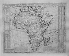 Antique map, Nouvelle carte de l'Afrique