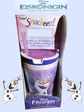 Snackeez Jr Drink&Snack Becher Disney Frozen Eiskönigin Olaf Schneemann BPA Frei