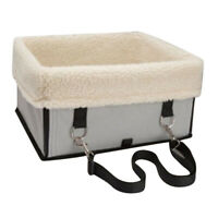 Medium Large Dog Car Booster Seat Carrier for Husky Samoyed Chow Grey M