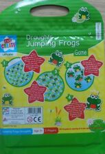 Childrens Travel Traditional Game Magnetic Set Draughts Jumping Frogs