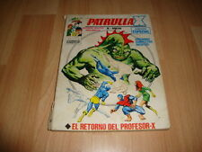 PATRULLA X V1 DE MARVEL - VERTICE NUMERO 30 USADO PRIMERA EDICION DE AÑOS '70