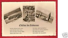 CPSM postcard Lac Constance Bodensee LINDAU Germany Allemagne A