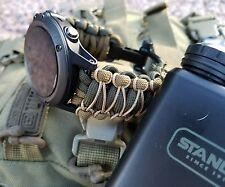 Garmin Fenix 1 2 3 5 Tactix Quatix 1 2 3 D2 Watch Band Strap Paracord Premium