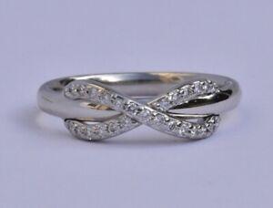 Tiffany & Co Infinity Diamond Ring 18k
