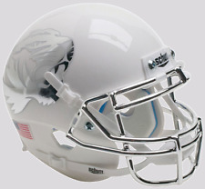 MISSOURI TIGERS NCAA Schutt Authentic XP MINI Football Helmet MATTE WHITE/CHROME