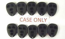 Lot of 10 case only replacement shell KOBGT04A GM 15252034 keyless remote phob