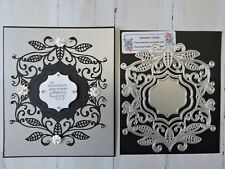 Craft Metal Die compatible with  Cuttlebug or Sizzix - Large Decorative Frame