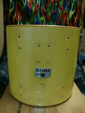 "TAMA Drums ~ Granstar ride tom drum shell, 12"" deep x 13"" head size Silky Yellow"