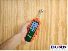 Extech MO257 Pinless Moisture Damp Meter - Non-invasive measure wood building