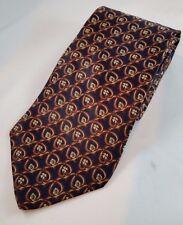 HENRY GRETHEL Designer Made in Italy 100% Silk Men's Neck Tie NWOT