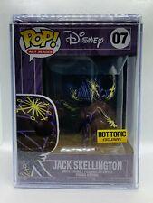 Funko Pop Jack Skellington Artist's Series W/CASE  Hot Topic Disney NBC