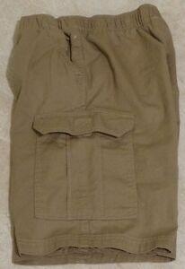 Boys Regular & Husky Canyon River Blues Elastic Waist Pull-On Cargo Shorts