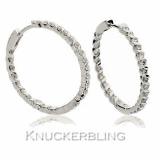 Snap Closure Natural Fine Diamond Earrings