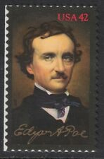 Scott 4377- Edgar Allan Poe, Poet- MNH (S/A) 42c 2009- unused mint stamp