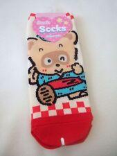 Sanrio Pokopon Nikki Diary  Ponpoko Pokotan ladies socks M Size NEWEST