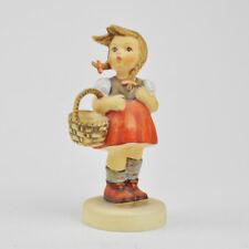 Hummel Göbel Figur - Gretel - 96 - Mädchen - rotes Kleid