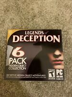 Legends of Deception  6 Pack Hidden Object Collection  (PC 2015)