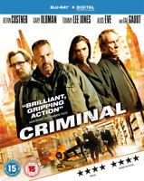 Criminal Blu-Ray (2016) Ryan Reynolds, Vromen (DIR) cert 15 ***NEW***