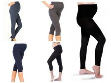 Thick Comfortable Maternity Adjustable Leggings Full Ankle Length PREGNANCY