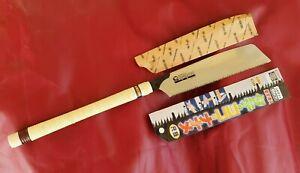 Bakuma Shakume Combination Japanese Rip Saw with 285mm blade