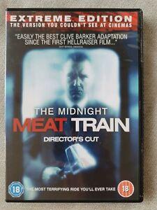 The Midnight Meat Train Director's Cut (DVD,REGION 2, 2008)
