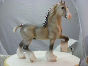 Breyer Classic Shire stallion dapple grey