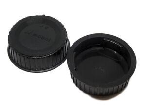 2 x Rear Lens Caps Covers  For Nikon DX F Mount Lenses DX UK STOCK