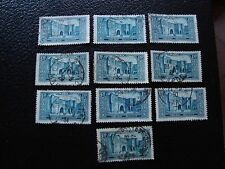 MAROC - timbre yvert et tellier n° 119 x10 obl (A29) stamp morocco (E)
