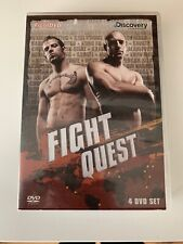 Fight Quest [DVD], Discovery Channel Fight DVD Martial Arts MMA X1 Disc Missing
