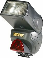 Sunpak PZ40X Power Zoom Digital Flash for all Canon  FOR PARTS!!!!!