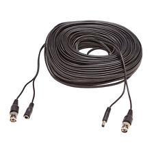 Videokabel Stromkabel für Überwachungskamera Video BNC Strom Kabel 50 Meter